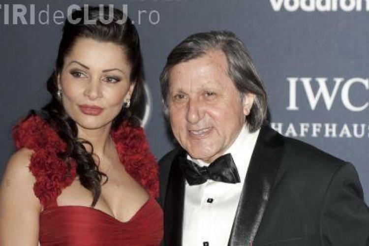 Ilie Năstase rămâne singur, după ce soția a anunțat divorţul