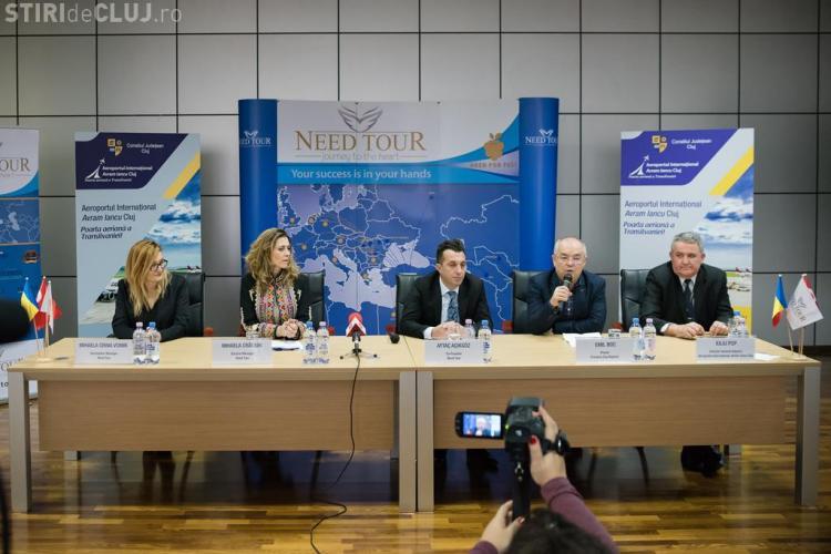 """Aeroportul Internațional Avram Iancu"""" Cluj anunţă noi zboruri turistice în anul 2018"""