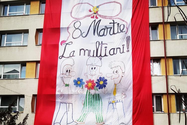 Cluj: Cea mai mare felicitare de 8 martie din România