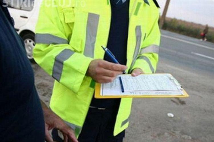 Razie în trafic la Cluj-Napoca. Șoferii au primit amenzi de peste 22.000 de lei, într-o singură zi
