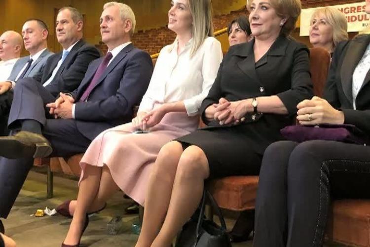 Dragnea, susținut la Congres de iubita lui cu 30 de ani mai tânără - FOTO