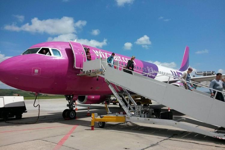Wizz Air: Zboruri de la Cluj spre Viena și Lyon