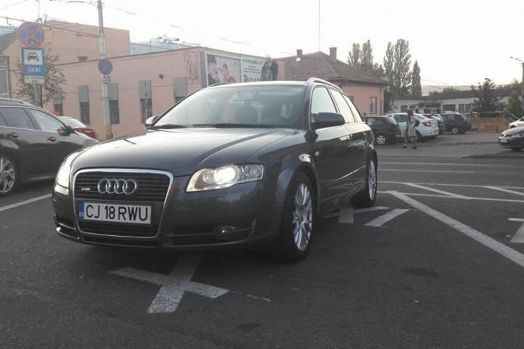 Mașină furată din Cluj! A închiriat-o și a dispărut - SHARE / FOTO
