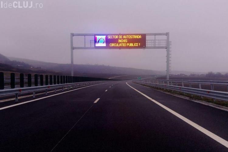 Petiție pentru deschiderea tronsonului de autostradă Aiud - Turda. Va înlocui drumul UZAT de pe DN 1
