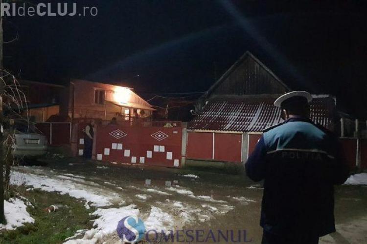 Caz tragic într-un sat clujean. O femeie a ars de vie în propria curte VIDEO