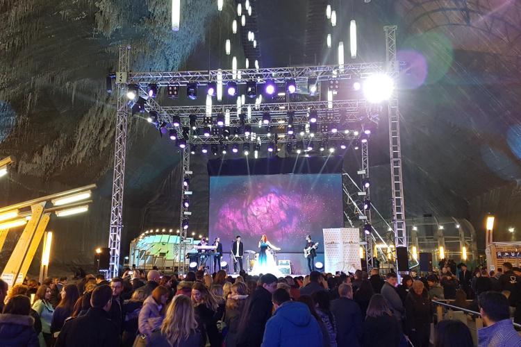 Semifinala Eurovision din Salina Turda, SUCCES uriaș. Calificați sunt Claudia Andas, TIRI şi Feli. Clujenii au deschis SHOW -ul - VIDEO