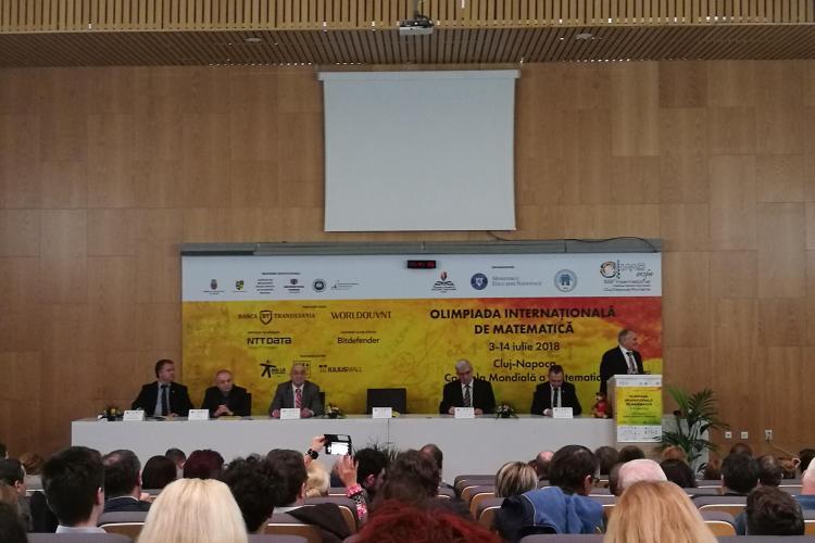 Cluj-Napoca, capitală mondială a matematicii! Orașul găzduiește a 59-a ediție a Olimpiadei Internaționale de Matematică