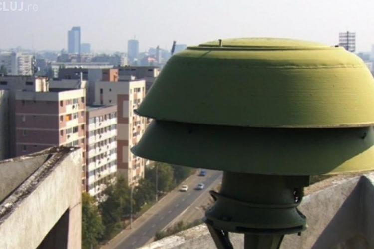 Miercurea Alarmelor: Sirenele sună din nou la Cluj
