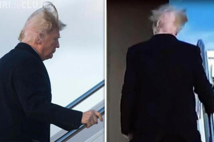 Donald Trump victima unui moment stânjenitor - VIDEO