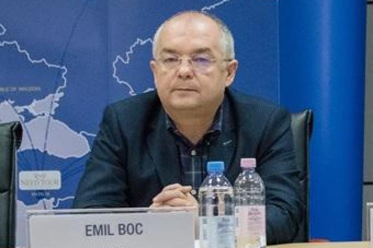 """Emil Boc crede că metroul este o variantă """"peste 30 de ani"""""""