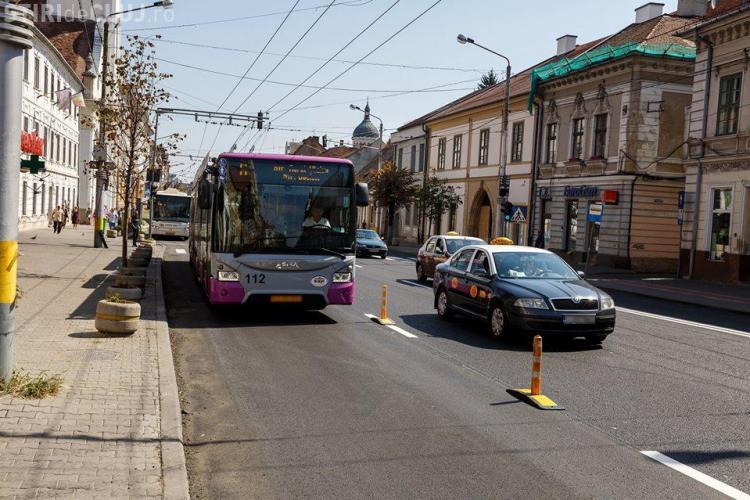 Primăria anunță noi regelementări privind circulația în centrul Clujului. Vezi ce se schimbă