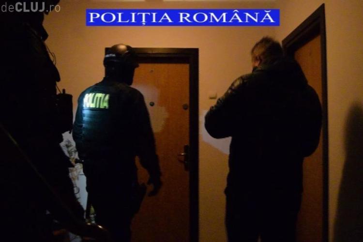 Percheziții după vandalizarea sediului PSD Cluj. Un bărbat a fost reținut
