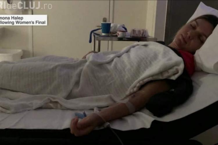 Simona Halep a fost internată după meciul de sâmbătă