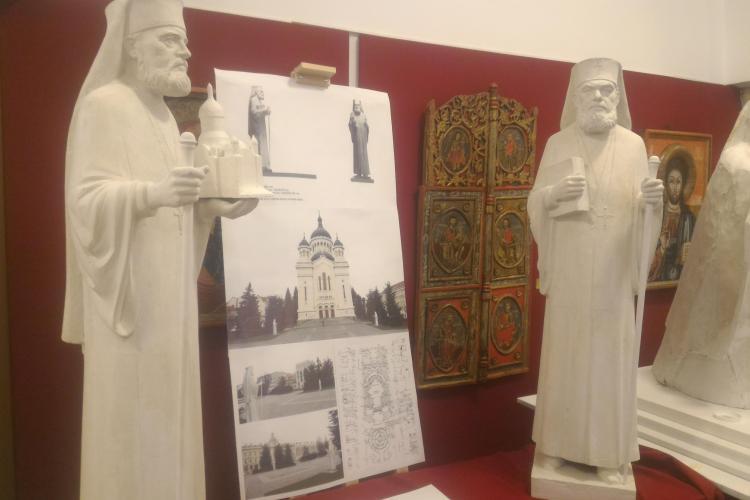 În Cluj se amplasează două statui ale unor preoți, cu ocazia Centenarului marii Uniri