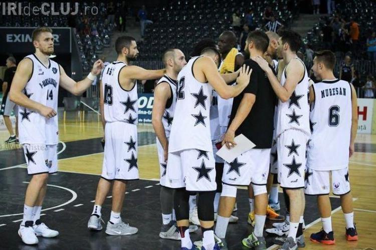 U-BT a pierdut meciul din prima manșă a optimilor FIBA Europe Cup
