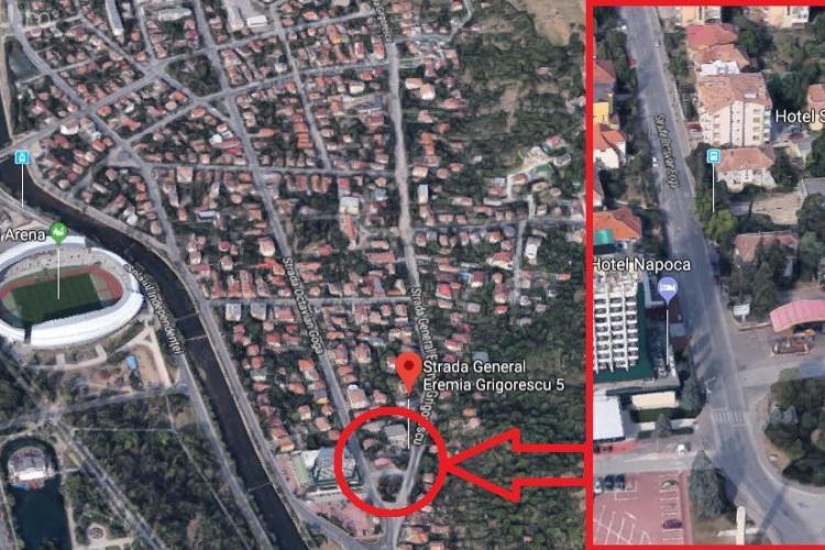 """Cluj: Hotelul """"Stadion"""" cedat unui """"sac fără fund""""! Terenul de 3000 de mp, evaluat la preț de apartament"""