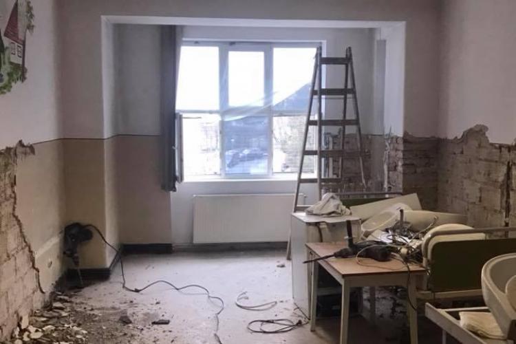 Beard Brothers renovează etajul Clinicii Pediatrie III - FOTO