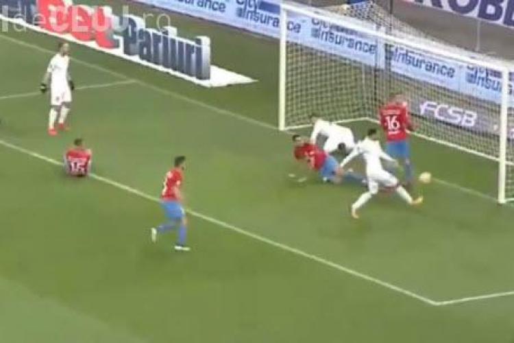 FCSB - CFR Cluj 1-1. Clujenii rămân lideri în campionat - REZUMAT VIDEO