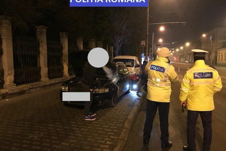 """Razie în trafic la Cluj! Polițiștii au vizat șoferii care fac """"liniuțe"""" FOTO"""