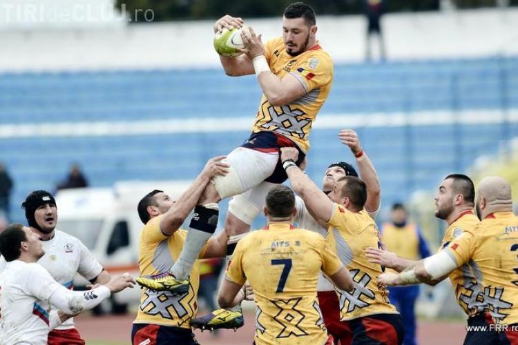 Rugby pe Cluj-Arena, în weekend! România joacă împotriva Rusiei