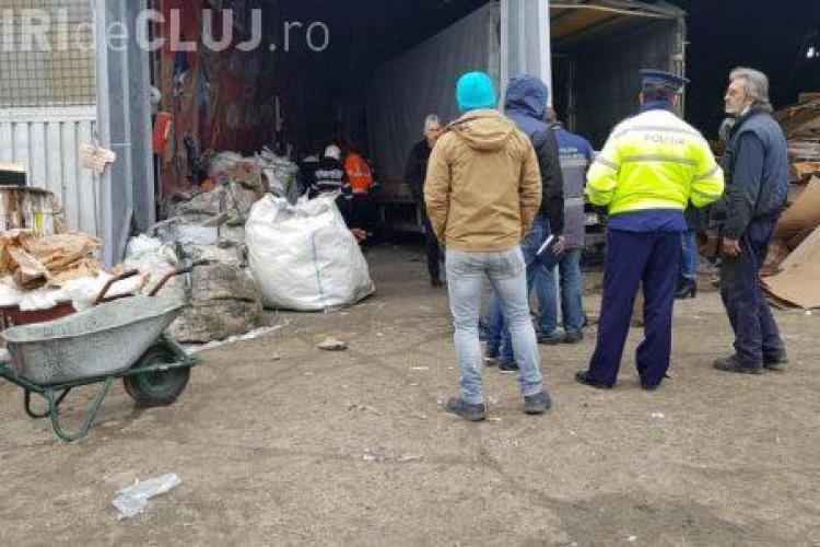 CLUJ: Accident de muncă la Dej. Victima e în stare critică FOTO