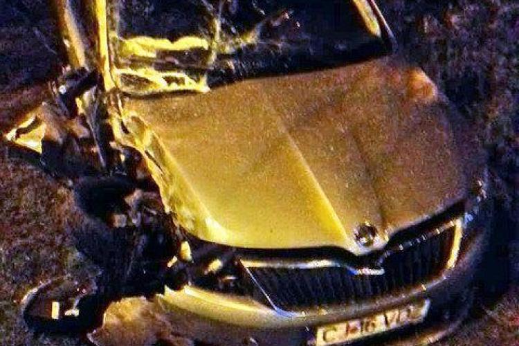 Accident în Piața Mărăști! A intrat direct în sensul giratoriu din Mărăști – VIDEO
