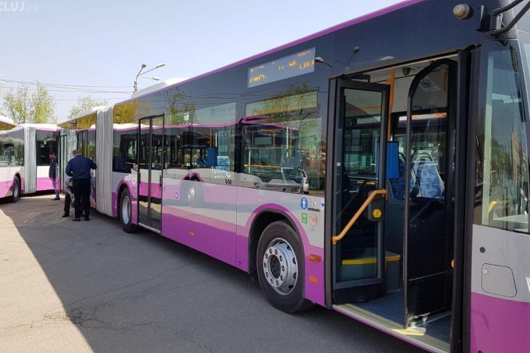 CTP introduce 15 autobuze Mercedes în circulație la Cluj. Pe ce linii vor circula FOTO/VIDEO
