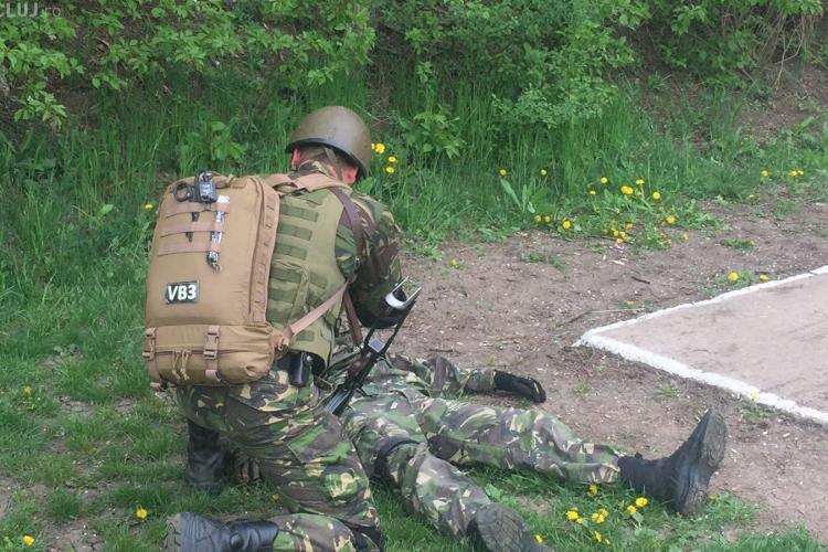 Militarii clujeni sunt dotați la standarde NATO - VIDEO în acțiune