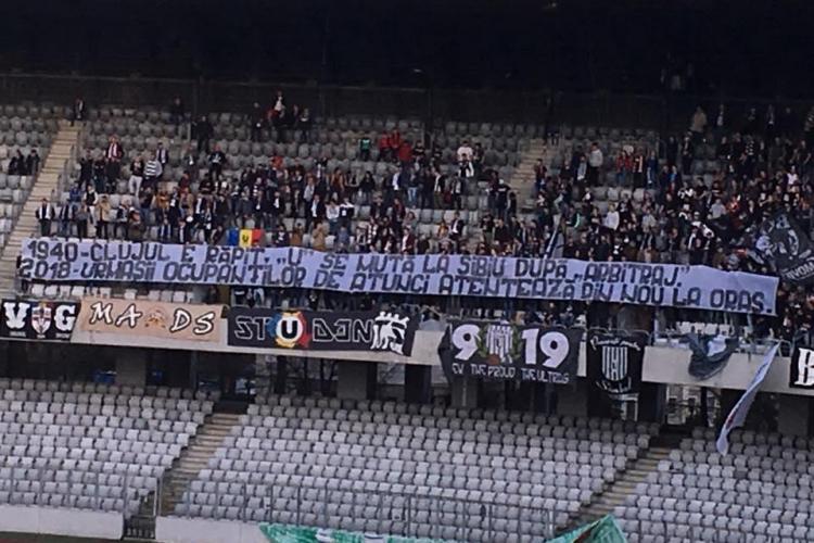 Meciul CFR 2 - U Cluj s-a mutat de pe Cluj Arena