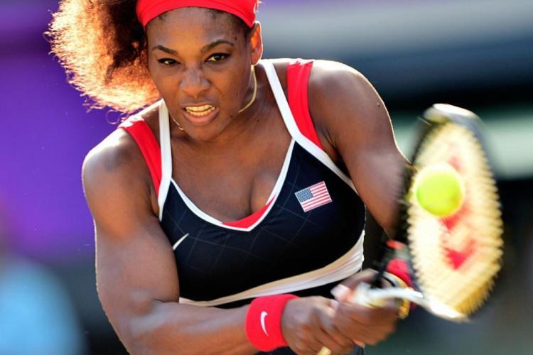 Serena Williams riscă o amendă, după eliminarea de la turneul din Miami. A făcut un gest nesportiv