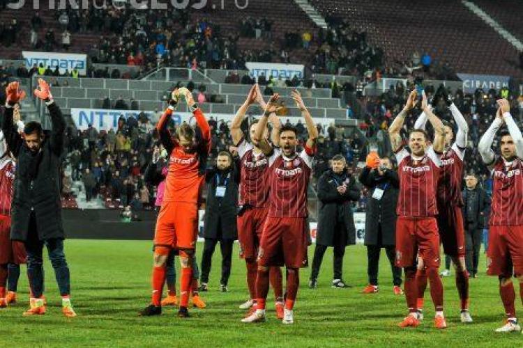 CFR Cluj a învins Viitorul și este lider. Ce a spus Hagi după înfrângere