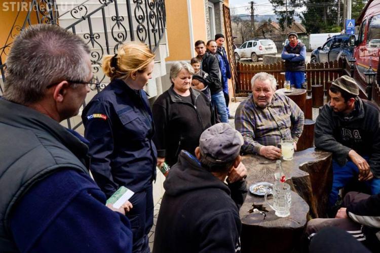 Ministrul Carmen Dan s-a dus la inundații și bărbații stăteau la birt: Unii sărbătoreau