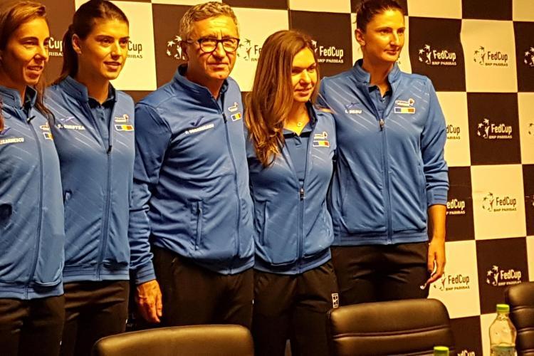 Fed Cup la Cluj: Regulament de acces la meciul de tenis România - Elveția. Sâmbătă e Sold Out