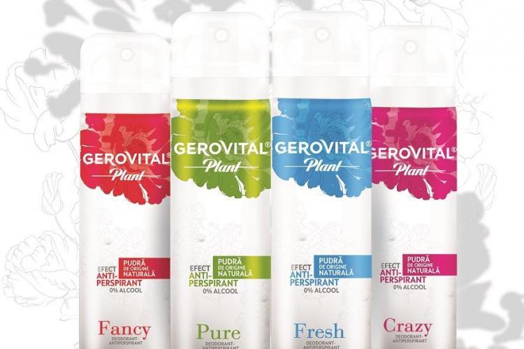 """Un nou succes pentru Farmec! Gama de deodorante Gerovital Plant a fost desemnată """"Best New Non-Food Product"""", în cadrul Progresiv Awards 2018(P)"""