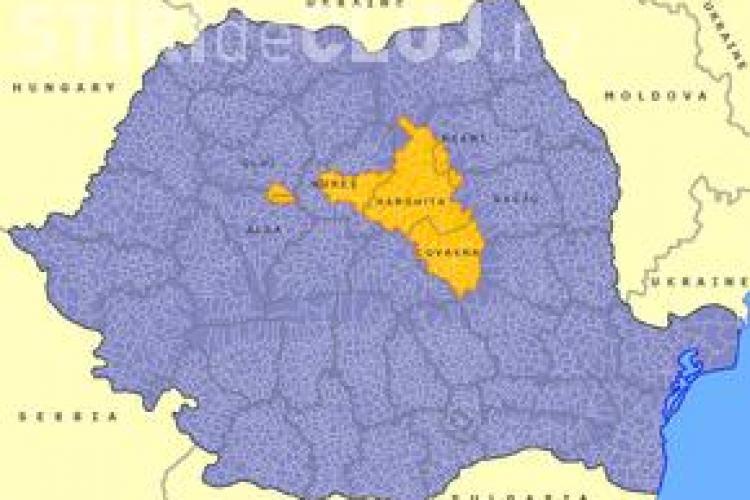 Proiect de lege pentru autonomia Ținutului Secuiesc, pe ordinea de zi în Camera Deputaților