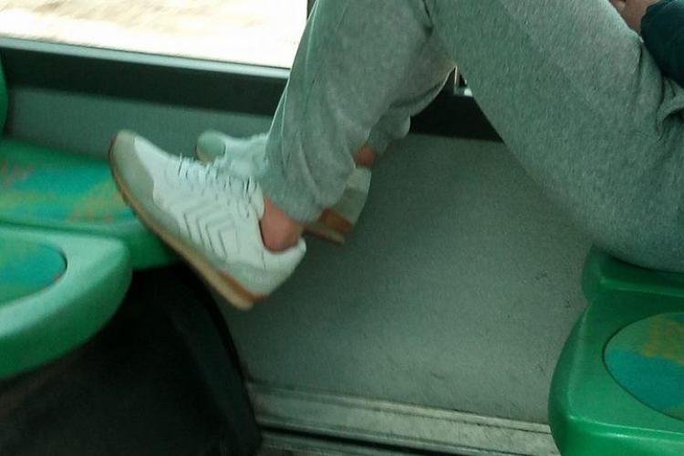 Cluj: Alt caz de NESIMȚIRE în autobuze! Un călător a luat măsuri - FOTO