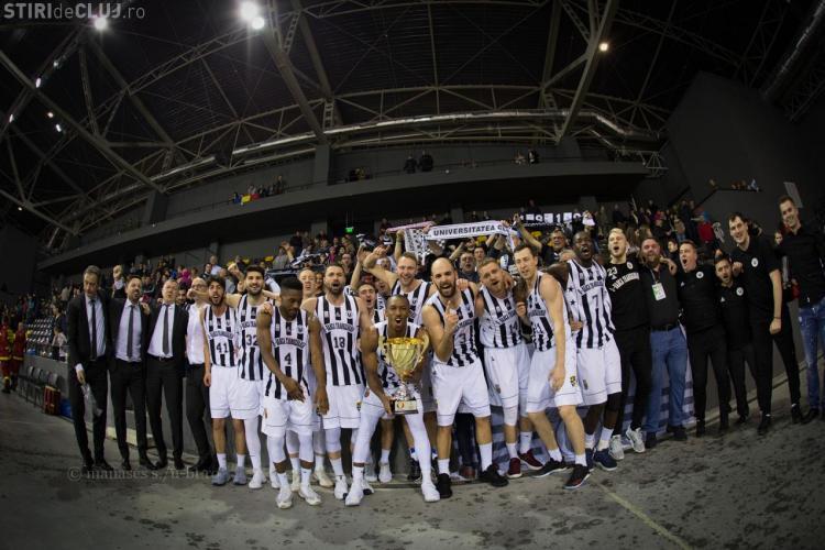 Campioana României la baschet masculin, U Banca Transilvania Cluj, în vizită la USAMV Cluj-Napoca