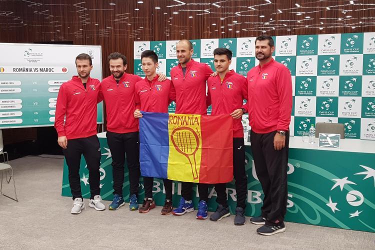 Cupa Davis la Cluj. S-au tras la sorți meciurile din 7 și 8 aprilie
