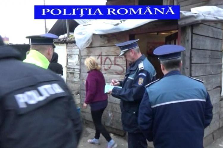 Razie de amploare la groapa de gunoi a Clujului! Polițiștii au prins și doi tâlhari violenți