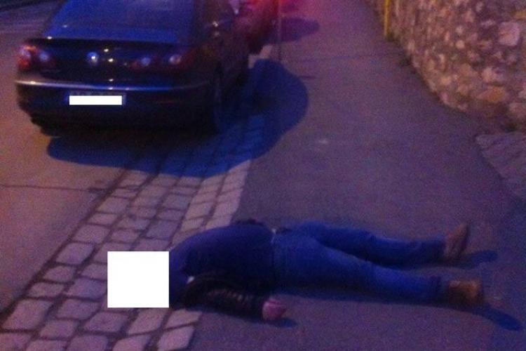 """Clujean căzut pe stradă și ignorat. """"Mișu"""", de la """"Uzina de Dume"""", trage un semnal de alarmă - FOTO"""
