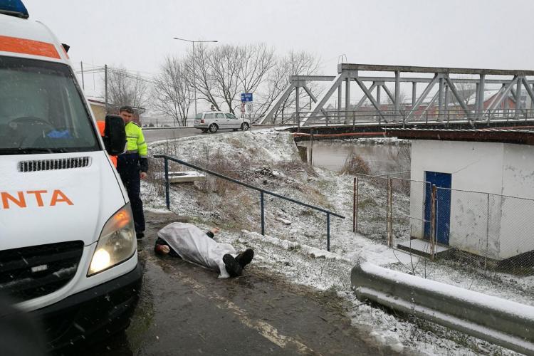 UPDATE - O femeie s-a aruncat în râu/ Descoperire macabră pe malul Someșului - FOTO