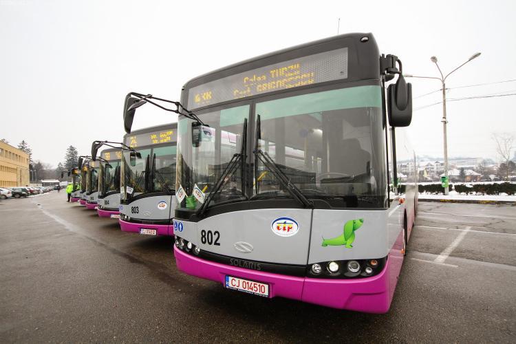 Cluj-Napoca: Program autobuze de Paște 2018