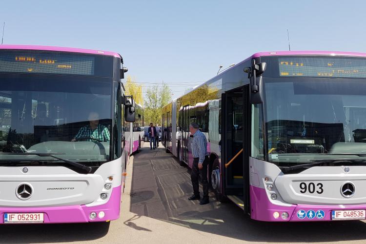 Noile autobuze Mercedes au alertă pentru nevăzători și alte inovații în premieră  - VIDEO