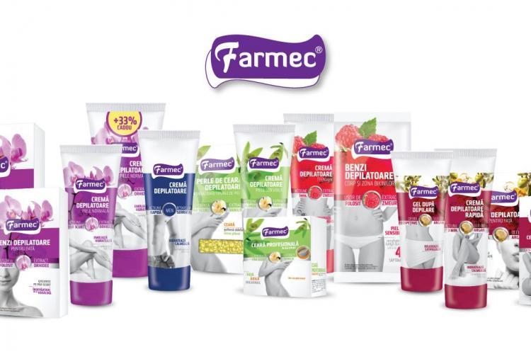Farmec își consolidează poziția de lider pe piața produselor depilatoare (P)