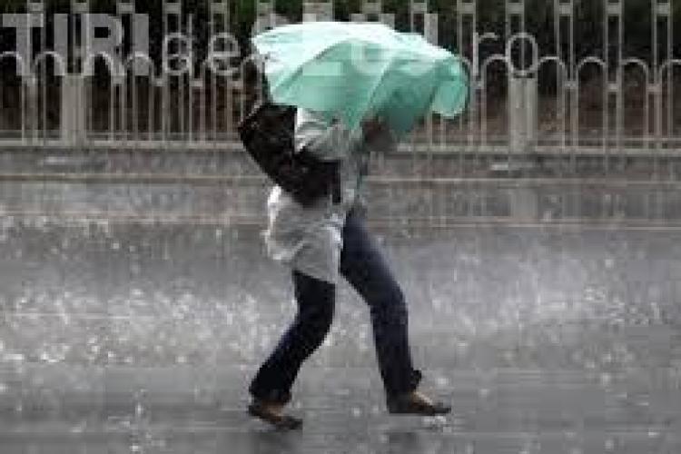 ANM anunță un nou avertisment de vreme rea! Vezi ce zone sunt afectate