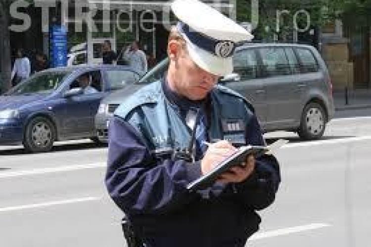 Razie în trafic la Cluj-Napoca. Oamenii legii au acționat în zona trecerilor de pietoni