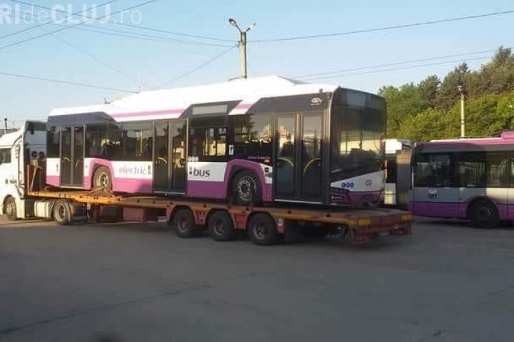 Cluj-Napoca - Așa vor arăta autobuzele electrice - FOTO