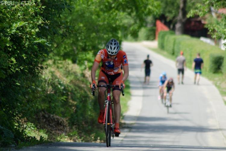 Clujenii, pe treapta întâi a podiumului la ciclismul de șosea în Sălaj