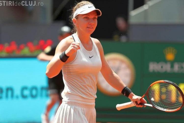 Simona Halep s-a calificat în sferturile turneului de la Roma fără măcar să joace