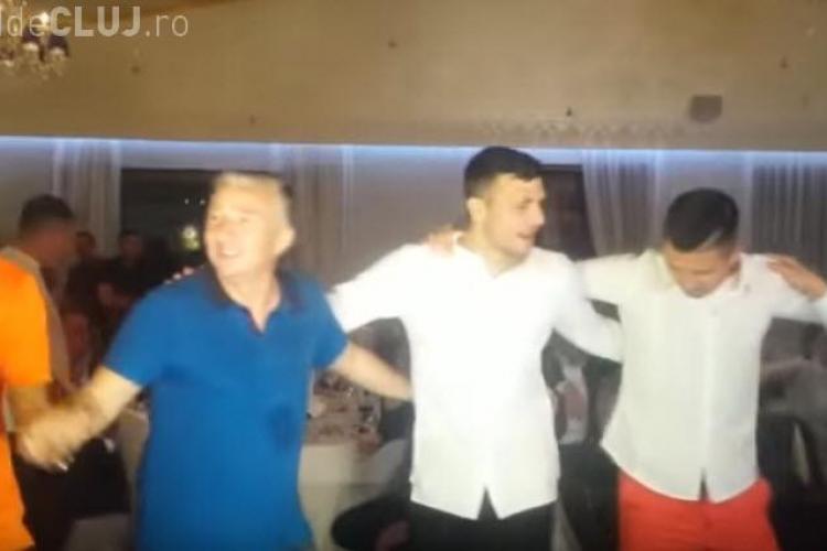 """Imagini de la petrecerea CFR Cluj: """"Toţi steliştii au o rană, CFR e campioană"""" - VIDEO"""